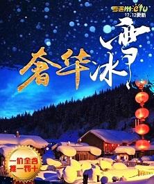 春节去雪乡过年旅游费用-哈尔滨,亚布力,中央大街,冰雪画廊,雪乡双飞五日游J