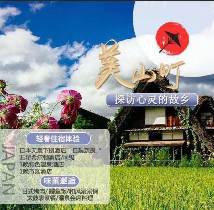 日本关西—奈良-京都-宇治川游船-富士山6日游,升级住宿,特色美食—日本旅游攻略z