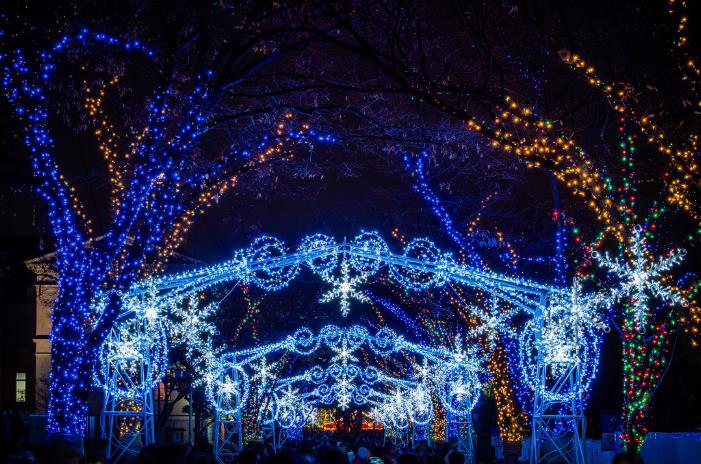 冬季大阪新体验-大阪的彩灯秀-青岛到日本旅游攻略